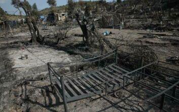 Προφυλακίστηκαν οι έξι Αφγανοί που κατηγορούνται για τη φωτιά στη Μόρια