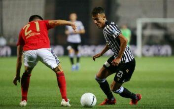ΠΑΟΚ - Μπενφίκα: 1-0 ο Γιαννούλης στο 63'