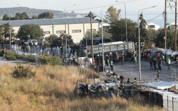 Μυτιλήνη: Συνεχίζεται για δεύτερη μέρα η αστυνομική επιχείρηση στο Καρά Τεπέ