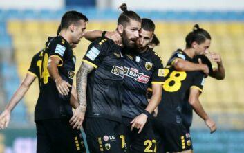Πέρασε από το Αγρίνιο η ΑΕΚ, 2-0 τον Παναιτωλικό