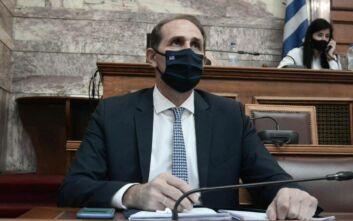 Ανέβηκαν οι τόνοι στη Βουλή για το νομοσχέδιο που αφορά τους πλημμυροπαθείς και τα μέτρα του κορονοϊού
