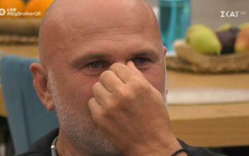 Big Brother: «Λύγισε» ο «αντιδήμαρχος» στον τηλεοπτικό αέρα