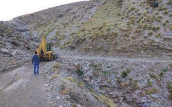 Εργαζόμενοι του δήμου Πατρέων απεγκλώβισαν κτηνοτρόφους που είχαν αποκλειστεί στο Παναχαϊκό Όρος
