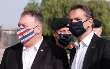 Στέιτ Ντιπάρτμεντ για επίσκεψη Πομπέο: Δεν ήρθε τυχαία δύο φορές στην Ελλάδα σε ένα χρόνο