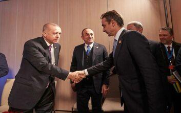 Διάλογος συμβούλων Μητσοτάκη - Ερντογάν και οι παράγοντες Κύπρος και Λιβύη