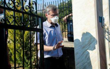 Τσιόδρας από Λακωνία: Θα ληφθούν μέτρα για να περιοριστεί η διασπορά του κορονοϊού