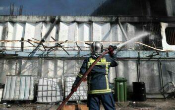 Φωτιά σε εργοστάσιο της Μεταμόρφωσης: Πόσο επηρέασε την ατμόσφαιρα