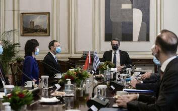 Οι έξι λέξεις Μητσοτάκη στον Ερντογάν: Σταματούν οι προκλήσεις, ξεκινούν οι συζητήσεις