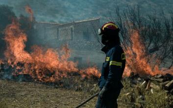 Φωτιά τώρα στην Κάρπαθο