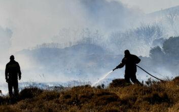 Φωτιά τώρα στο Πέραμα – Ισχυρή δύναμη της πυροσβεστικής στην περιοχή