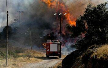 Πολύ υψηλός κίνδυνος πυρκαγιάς για αύριο
