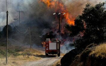 Υψηλός ο κίνδυνος φωτιάς σε τρεις περιφέρειες της Ελλάδας