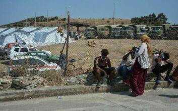 Μυτιλήνη: Ξεκίνησε η εγκατάσταση προσφύγων και μεταναστών στον νέο καταυλισμό προσωρινής διαμονής