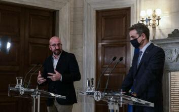 Μητσοτάκης: Έτοιμοι για διερευνητικές επαφές για τις ΑΟΖ με την Τουρκία - Η Μόρια ανήκει στο παρελθόν