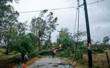 Συνεχίζονται οι εργασίες για την αποκατάσταση της ηλεκτροδότησης στις περιοχές που επλήγησαν από τον κακοκαιρία Ιανός