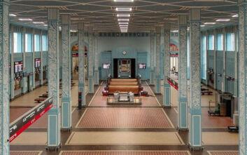 Αποκαταστάθηκε ο σιδηροδρομικός σταθμός «κόσμημα» στην πόλη Ιβάνοβο της Ρωσίας