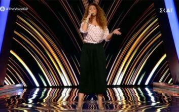 Ιωάννα Κουταλίδου: Η ερμηνεία της στο The Voice – Δεν την αναγνώρισαν οι κριτές