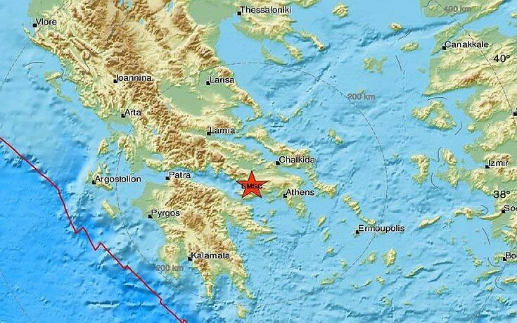 Σεισμός τώρα στον Κορινθιακό - Αισθητός και στην Αθήνα