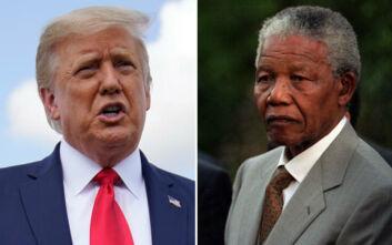Οργή στη Νότια Αφρική για ρατσιστικά σχόλια του Ντόναλντ Τραμπ σε βάρος του Νέλσον Μαντέλα