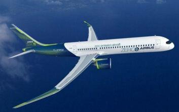 To πρώτο «καθαρό» επιβατηγό αεροπλάνο σχεδιάζει για το 2035 η Airbus - Θα κινείται με υδρογόνο