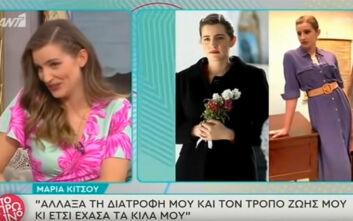 Μαρία Κίτσου: Δεν με αφορούν οι ταμπέλες, με τον Δημήτρη Γκοτσόπουλο είμαστε κοντά