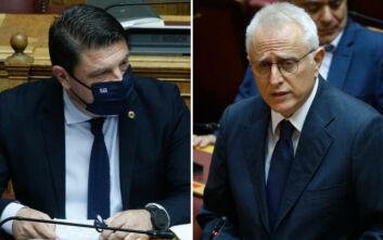 Σύγκρουση Χαρδαλιά – Ραγκούση στη Βουλή για κορονοϊό και πλημμύρες στην Εύβοια