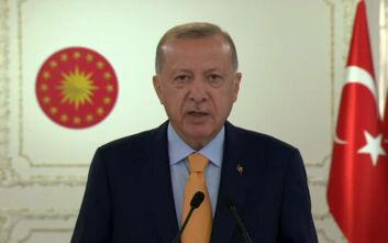 Ερντογάν: Καμία επιτυχία οι προσπάθειες αποκλεισμού της Τουρκίας από την Ανατολική Μεσόγειο