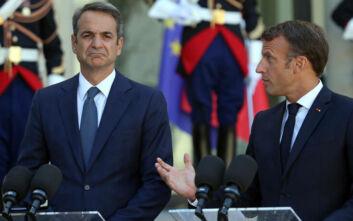Ευρωμεσογειακή Διάσκεψη: Η συνέντευξη Τύπου και η δήλωση του Κυριάκου Μητσοτάκη