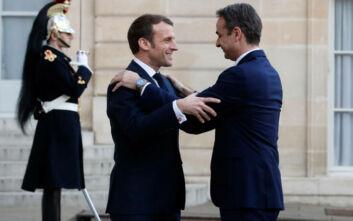 Σήμερα το ραντεβού Μητσοτάκη- Μακρόν: Αμυντική συμμαχία και γαλλική στήριξη και για τη Μόρια
