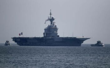 Charles de Gaulle: Δεν επιβεβαιώνονται από το γαλλικό υπουργείο Άμυνας οι πληροφορίες ότι έρχεται στη Μεσόγειο
