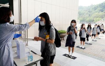 Μειώνονται τα κρούσματα κορονοϊού στη Σεούλ, κανονικά τα μαθήματα στα σχολεία