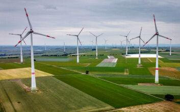 Η αιολική ενέργεια ήταν η πιο σημαντική πηγή ενέργειας για τα νοικοκυριά στη Γερμανία