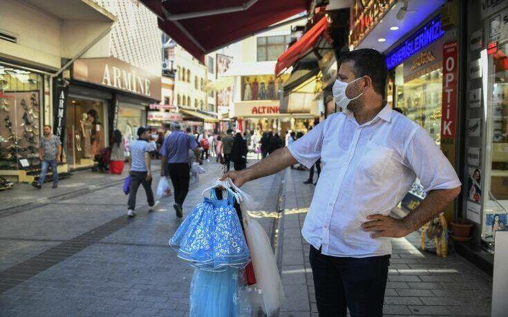Η Τουρκία γνωρίζει δεύτερη κορύφωση της πανδημίας του κορονοϊού