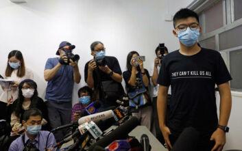 Συνελήφθη στο Χονγκ Κονγκ ένα από τα βασικά πρόσωπα του κινήματος για τη δημοκρατία