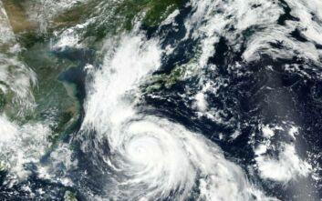Πλησιάζει στην Ιαπωνία ο τυφώνας Χάισεν