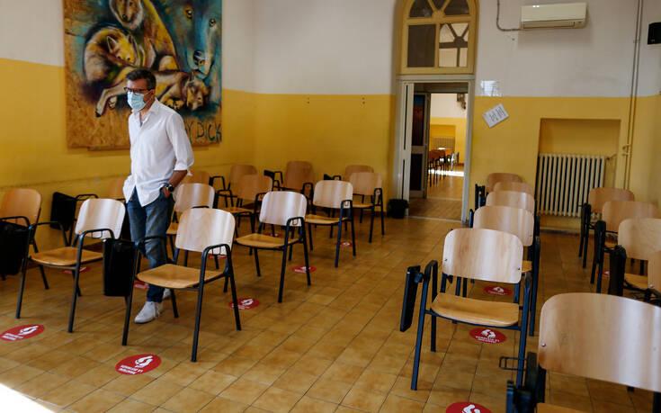 Ξανανοίγουν τα σχολεία στην Ιταλία – Πότε οι μαθητές δεν θα φορούν μάσκα