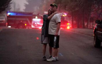 Τουλάχιστον 24 νεκροί από τις φωτιές στις ΗΠΑ: Εντολή εκκένωσης για μισό εκατομμύριο κατοίκους στο Όρεγκον