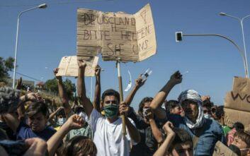 Προσφυγικό-Μόρια: το 47% των Γερμανών τάσσεται υπέρ της υποδοχής αιτούντων άσυλο