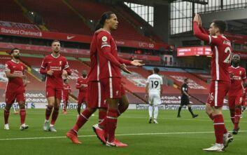 Premier League: Η Λίβερπουλ νίκησε 4-3 τη Λιντς με πέναλτι στο 88'
