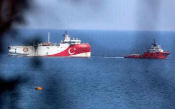 Το Oruc Reis «έσπασε» τα 12 ναυτικά μίλια και απομακρύνεται - Πόλεμος νεύρων από την Τουρκία