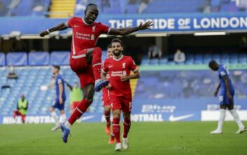 Premier League: «Πετάει» με Μανέ η Λίβερπουλ, 2-0 την Τσέλσι στο Λονδίνο