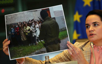 Κρίση στη Λευκορωσία: Η ηγέτιδα της αντιπολίτευσης καλεί την ΕΕ να επιβάλει κυρώσεις