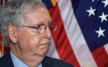Ο επικεφαλής των Ρεπουμπλικανών στη Γερουσία… αποφεύγει τον Λευκό Οίκο