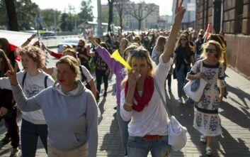Νέες συλλήψεις στο Μινσκ στις κινητοποιήσεις κατά του Λουκασένκο