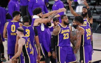 Ο «τριπλός» ΛεΜπρον έστειλε στους τελικούς του NBA τους Λέικερς