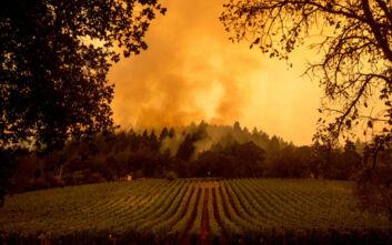 Τρομακτικές εικόνες από τις δασικές πυρκαγιές στην Καλιφόρνια - Ακόμα τρεις νεκροί