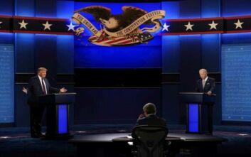 Προεδρικές Εκλογές ΗΠΑ: Υψηλοί τόνοι, προσβολές και βαριά λόγια στο πρώτο debate Τραμπ-Μπάιντεν