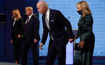 Πρώτο debate Τραμπ - Μπάιντεν: Η χαμογελαστή Μελάνια, η κομψή Τζιλ και η σικάτη Ιβάνκα