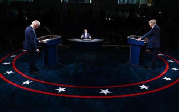 Προεδρικές εκλογές ΗΠΑ: 73,1 εκατ. Αμερικανοί παρακολούθησαν το πρώτο debate Τραμπ-Μπάιντεν