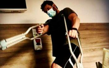 Ο Αλέξης Γεωργούλης εξήγησε πώς έγινε το ατύχημα που τον οδήγησε στο χειρουργείο